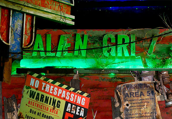 Escape Room Alien Grill